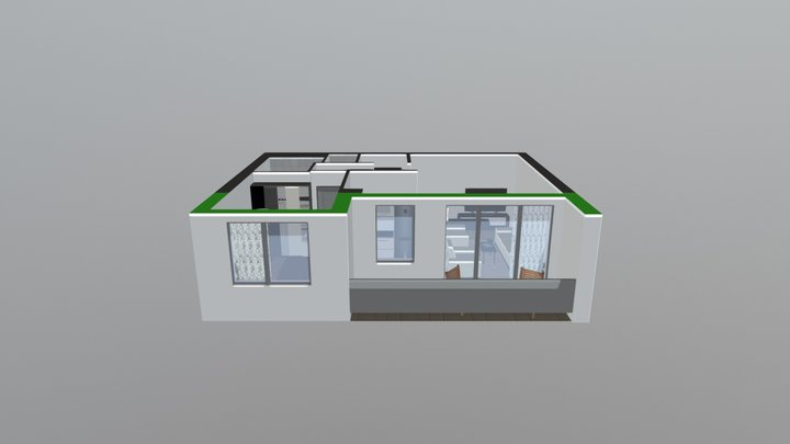 MPA model C12 mirrored 3D Model