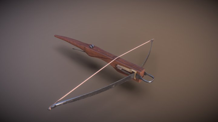 Crossbow - Rey Paul 3D Model