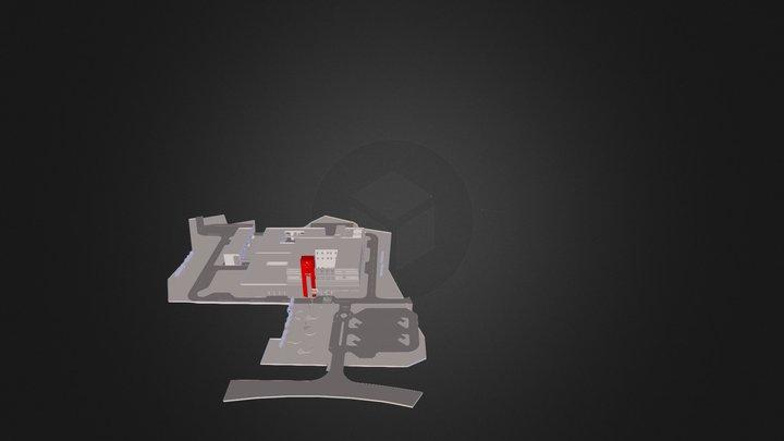 1U Profil,  Neigung 10 Grad, L-30 cm 3D Model