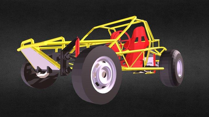 Dunaventura Antonio Huizar 3D Model