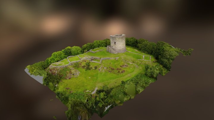 llanberis castle 3D Model