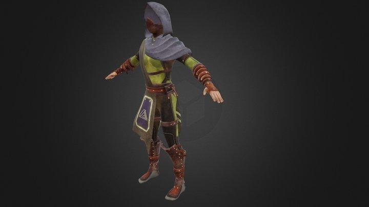 Shady Alchemist Costume 3D Model
