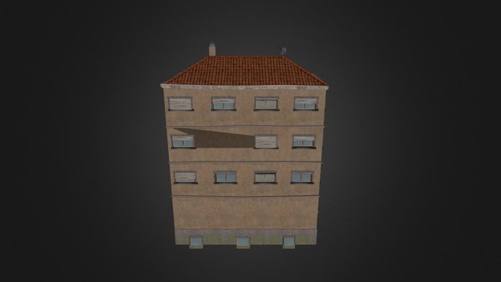 Huis_GroentenWinkel 3D Model