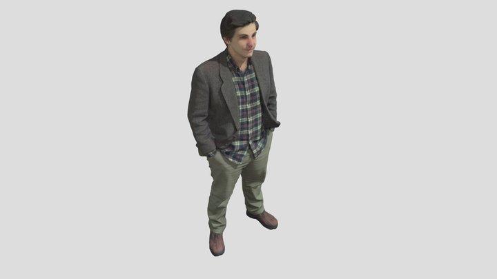 Andrew Sink - Full Color Selfie 3D Scan! 3D Model