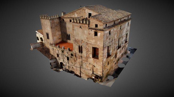 Castillo-Palacio Albalat dels Tarongers 3D Model
