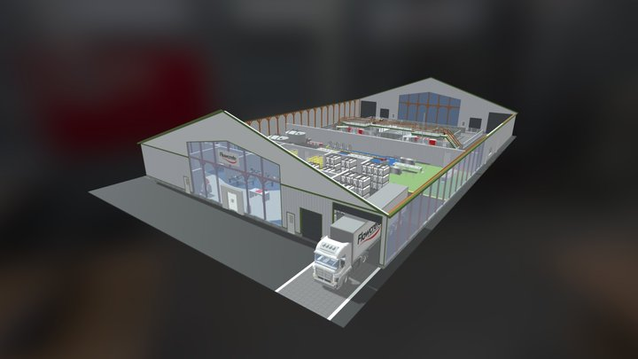[UK] Interactive 3D Model - Dairy & Cheese 3D Model