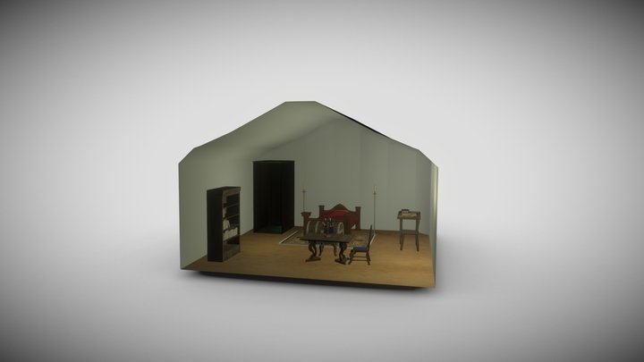 Illiya's tent 3D Model