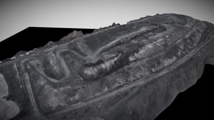 Landfill site, thermal model 3D Model
