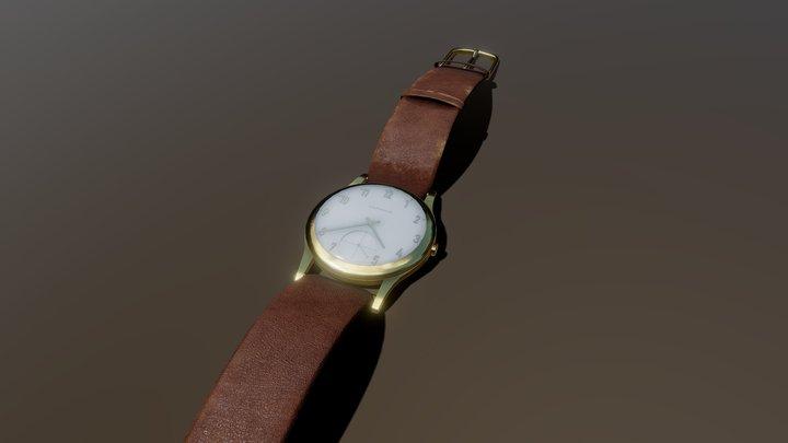 Garrard presentation watch 3D Model