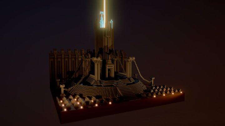 The Dark Tower 3D Model