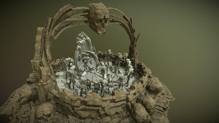 Demon Room - Oculus Medium 3D Model