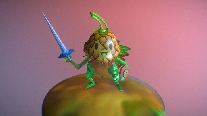 Oak Knight 3D Model