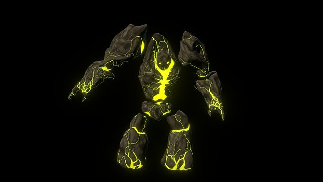 WoW Legion Infernal 3D Model