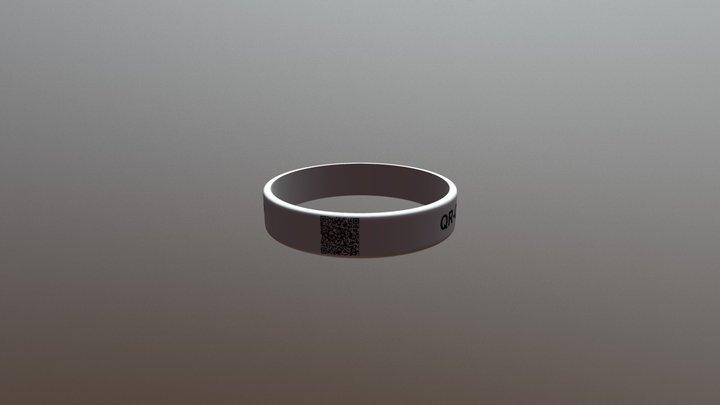 QR-Code-Armband  by ownband.de 3D Model