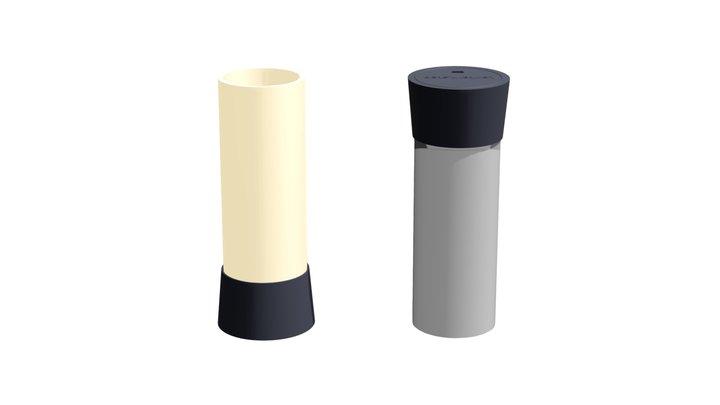 Lantern.step Carbon by .step 3D Model