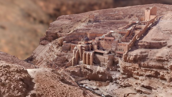 Mar Saba Monastery  -RAWscan 3D Model