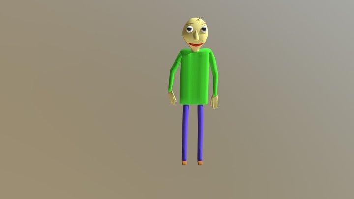 Baldi (animated) 3D Model