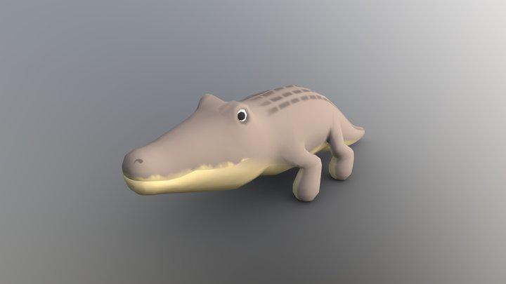 Gator 3D Model