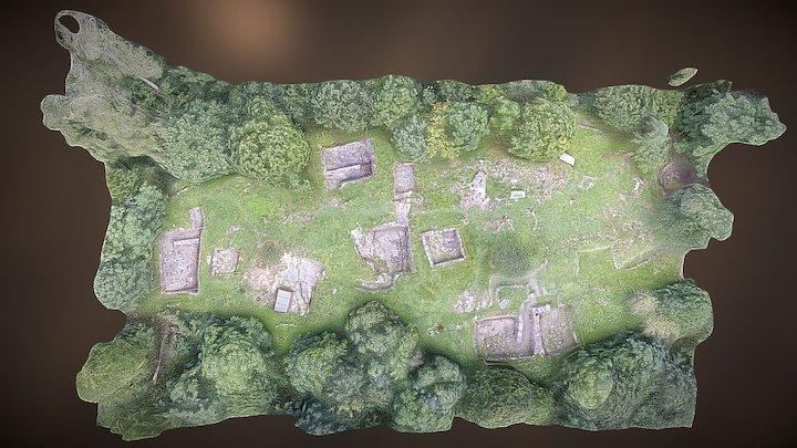 Raetersiedlung Himmelreich in Wattens 3D Model