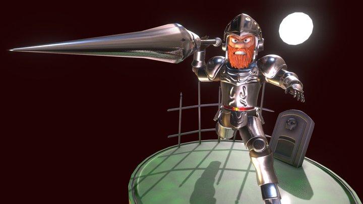 Arthur - Ghosts N' Goblins 3D Model