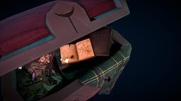 Witch's Chest 3D Model
