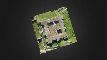 Donjon du château de Caen 3D Model