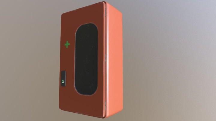 First aid box 3D Model