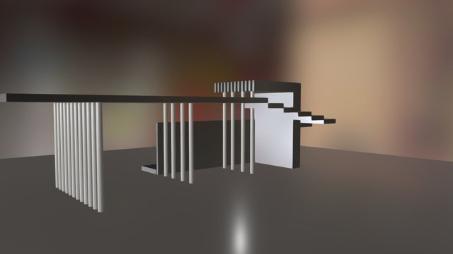 1er modelo blender 3D Model