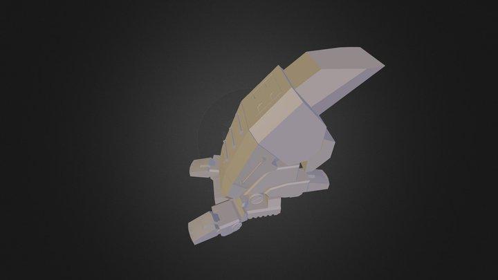MechShinFoot (WIP) 3D Model