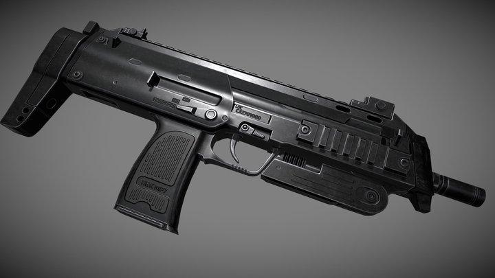 H&K MP7 3D Model