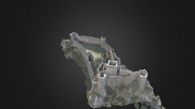 Château Cathare de Puilaurens 3D Model