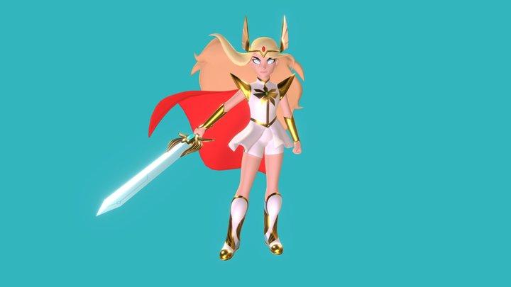 She-Ra 3D Model