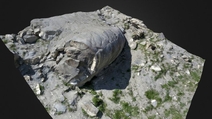 Fold at Le Chenaillet (France) 3D Model