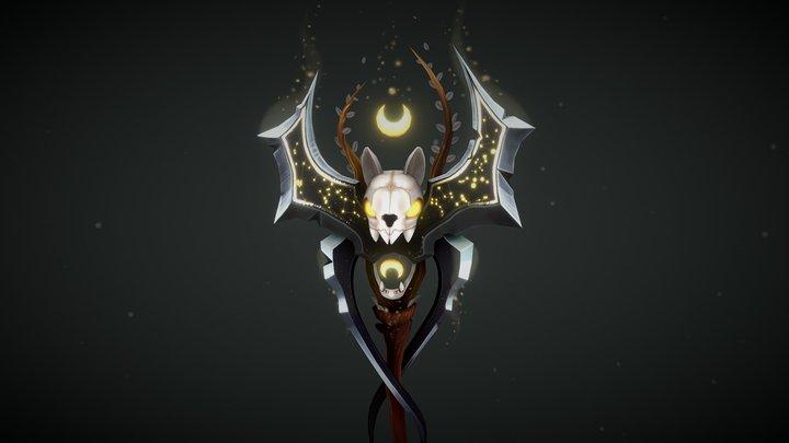 Lunatic Blades - Stylized Weapon 3D Model