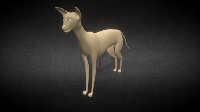Siameses Cat 3D Model