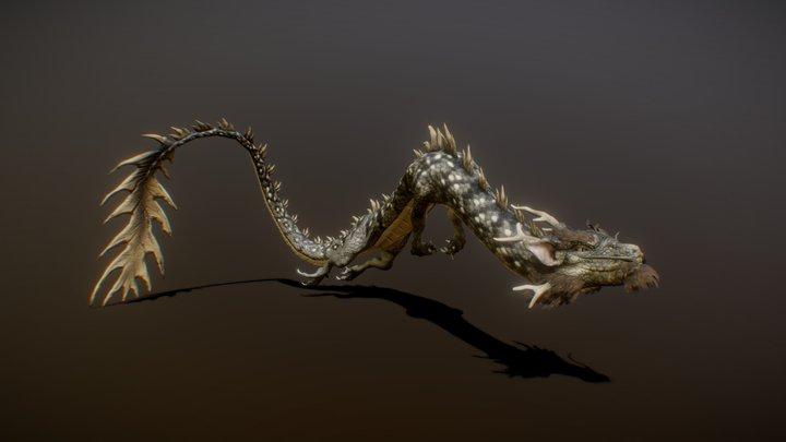 BLACK DRAGON ANIMATIONS 3D Model