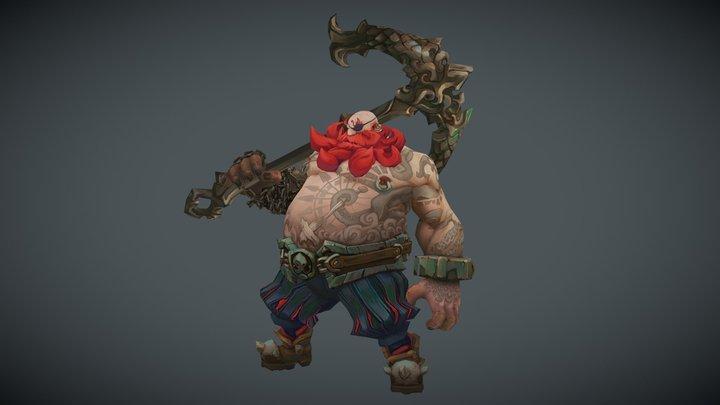PirateBoss 3D Model