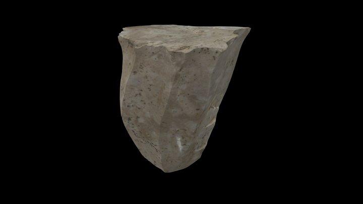 Mesolithic flint core 3D Model