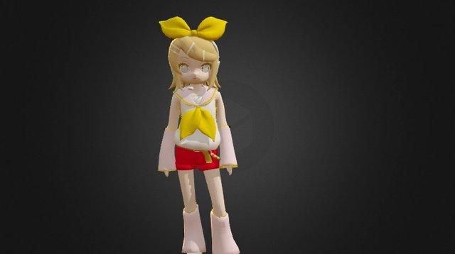 Kagamine Rin 3D Model