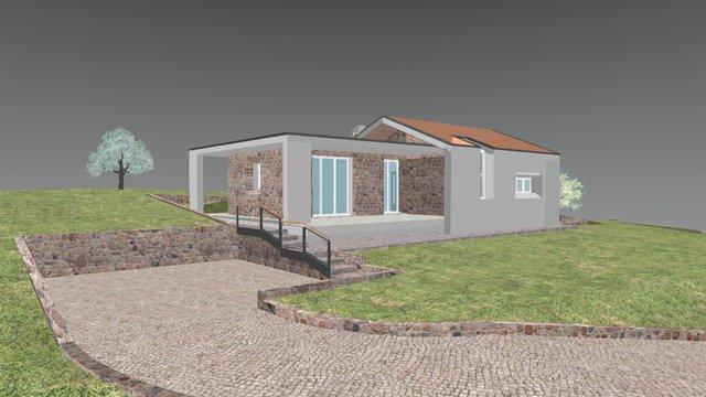 Baone - Casa Unifamiliare 3D Model