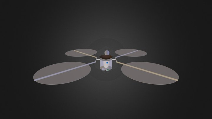 Spacecraft-Ultraflex-17-Apr-2014 3D Model