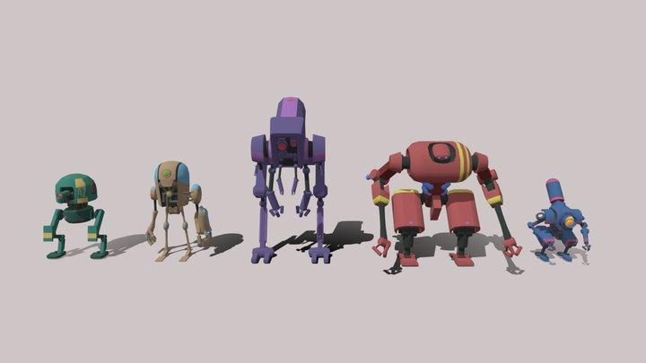 Robots 3D Model