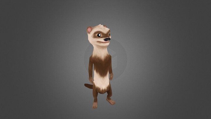 Weasel 3D Model
