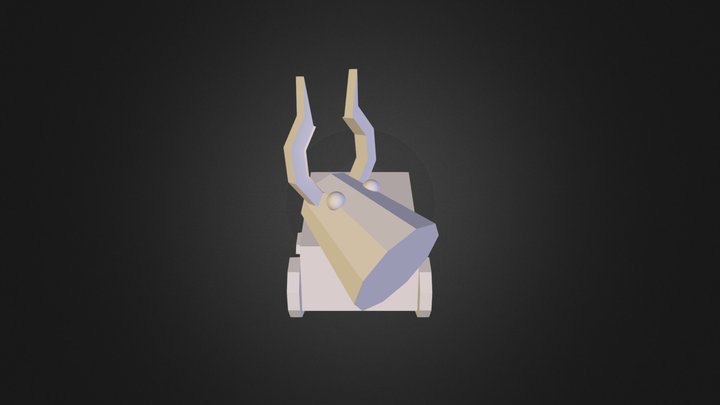 Vaca 3 D 3D Model