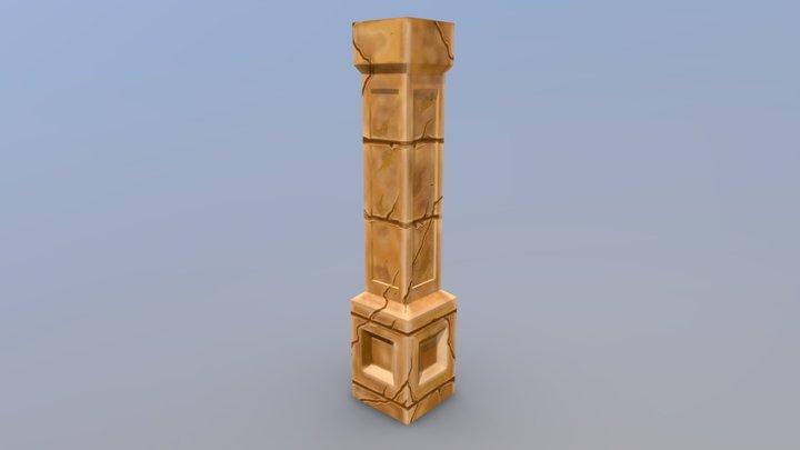 Sand Pillar 3D Model