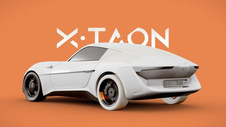 X·TAON : the road eraser 3D Model