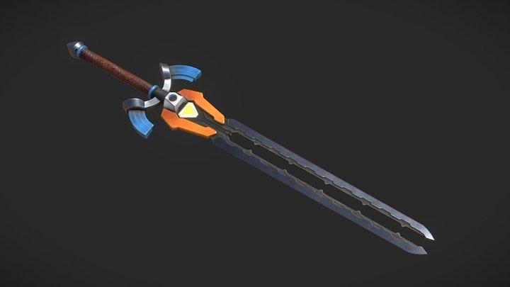 Futuristic Link Sword 3D Model