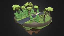 Real story 3D Model