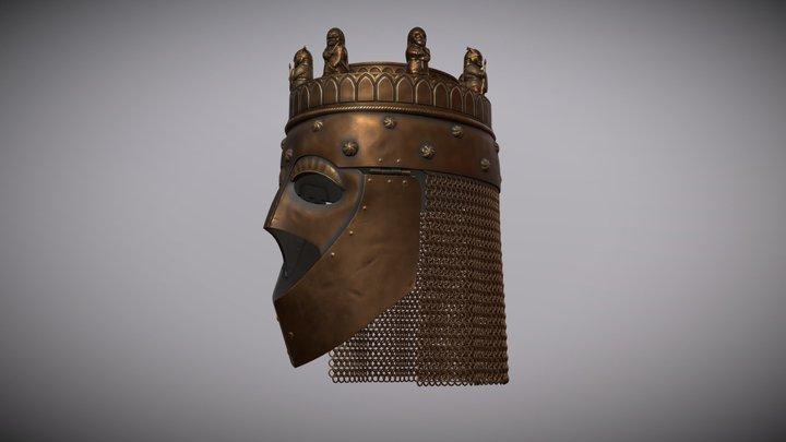 The Crowned Helmet 3D Model