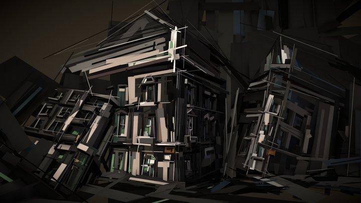 Houses [VR] 3D Model